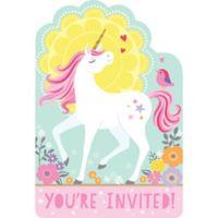 Unicornio Magico Invitaciones