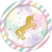 Unicornio Plato Cena