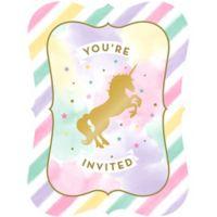 Unicornio Invitaciones