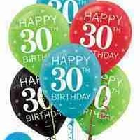 30 Globos Latex