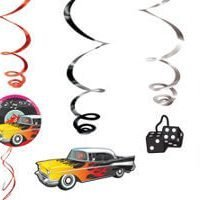 50's Rock and Roll Decoracion