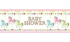 Baby Shower Carrusel Baner