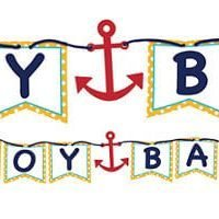 Baby Shower Nautico Baner