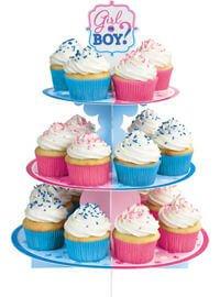 Baby Shower Niño o Niña Base Cupcakes