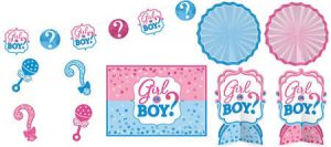 Baby Shower Niño o Niña Decoraciones