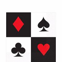 Casino Servilleta Cena