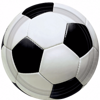 Futbol Plato Postre