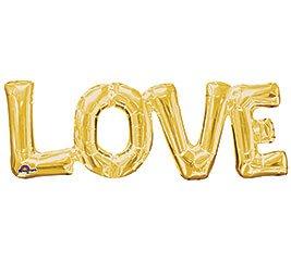 """Globos Letras 14"""" LOVE"""