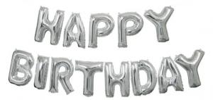 """Globos Letras HAPPY BIRTHDAY 14"""""""