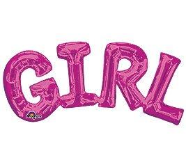 """Globos Letras GIRL 14"""""""