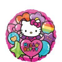 Hello Kitty Globo Metalico
