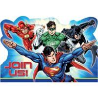 Liga Justicia Invitaciones