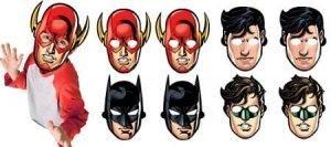 Liga Justicia Mascaras