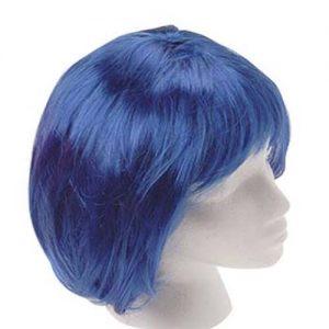 Peluca Azul Corta