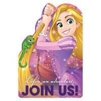 Rapunzel Invitaciones