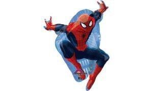 Spiderman Globo Metalico