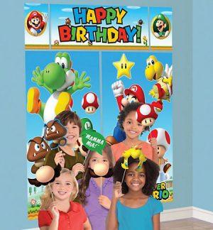Super Mario Escena Para Fotos y Accesorios