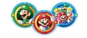 Super Mario Decoracion Colgante (Honeycomb)