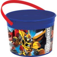 Transformers Balde Plastico