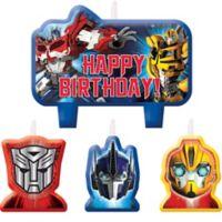 Transformers Set de Velas