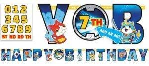 Yo Kai Watch Banner para Personalizar