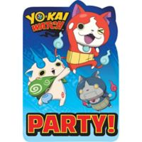 Yo Kai Watch Invitaciones