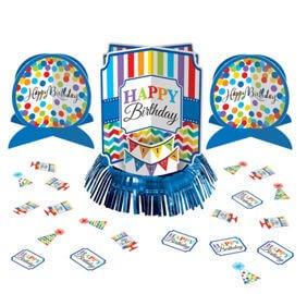 Cumpleaños Colores Centro Mes