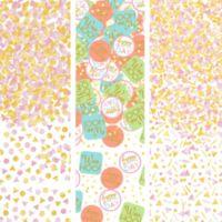 Cumpleaños Colores Pastel y Dorado Confeti