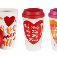 San Valentine Vaso para Cafe