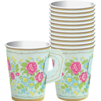 Tea Party Vaso 9 Oz.